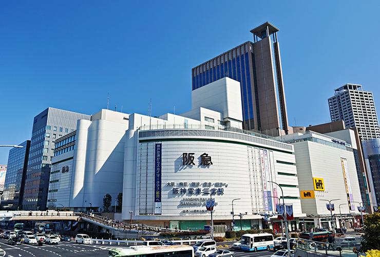 神戸 三宮駅から徒歩5分!
